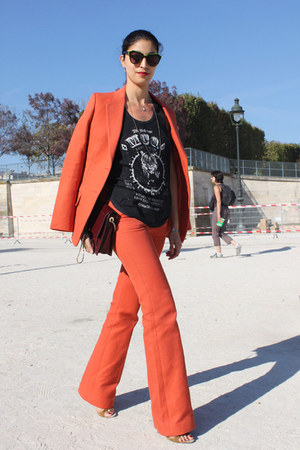 Mango blazer - Mango pants - Mango t-shirt