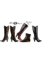 black born boots - dark brown Born Crown boots