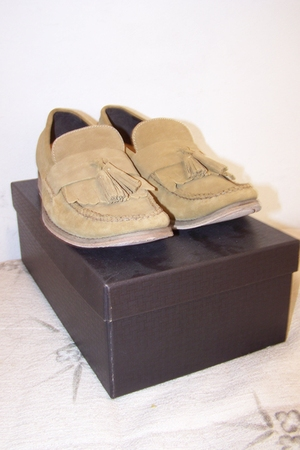 beige Cole Haan shoes