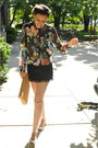 Floral-h-m-shirt-tan-suede-zara-bag-black-fringe-zara-skirt