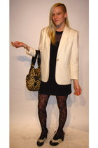 cream unknown brand blazer - black Jeffrey Campbell shoes
