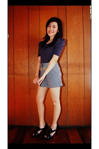 VorVon blouse - VorVon shorts - VorVon shoes