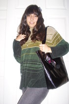 Kmart bag - Forever 21 accessories - Ross jeans - dollar tree store sweater - Ta