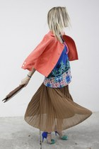 Miss United skirt - new look top - Zara heels - H&M vest