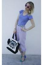 Barockines bag - Zara heels - asos earrings - asos watch