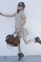 Isabel Marant shoes - Suncoo dress - balenciaga bag - Celine sunglasses