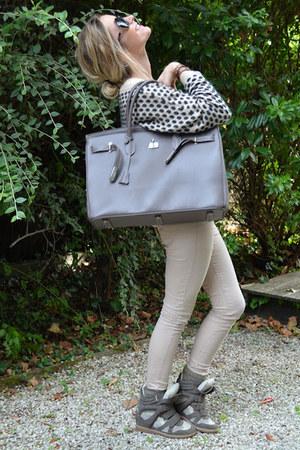 Le boudoir de Maria bag - Laura Jo jeans - Suncoo sweater