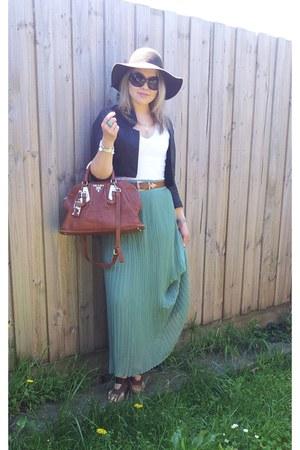 Prada bag - Sportsgirl hat - bardot jacket - Michael Kors sunglasses