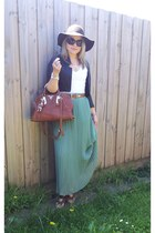Prada bag - Sportsgirl hat - bardot jacket - Michael Kors sunglasses