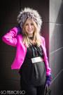 Silver-saga-furs-hat-hot-pink-diane-von-furstenberg-jacket