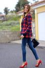 Zara-jeans-shein-jacket-bimba-lola-bag-bershka-heels