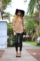 s&e blouse - H&M hat - s&e bracelet - s&e panties