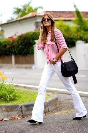 Mango jeans - Zara shirt - ASH bag