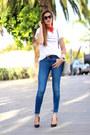 Zara-jeans-michael-kors-bag-itshoes-t-shirt