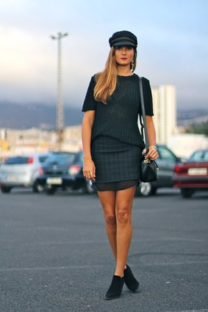 Zara boots - Zara sweater - Zara skirt