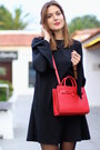 Zara-dress-shein-coat-mango-bag