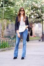 Mango jeans - Sheinside jacket - Ray Ban sunglasses