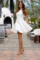 TFNC dress - emporio armani heels