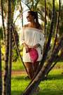 Tfnc-london-skirt-zara-blouse-casa-de-vera-flats
