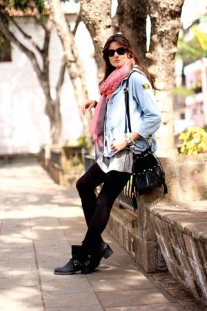 Choies jacket - Bershka dress