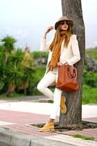 Panama Jack boots - Sheinside coat - Massimo Dutti bag - Zara t-shirt