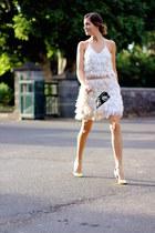 Sheinside dress - Mango heels