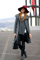 nowIStyle boots - Sheinside coat - Massimo Dutti hat - Queens Wardrobe panties