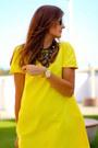 Sheinside-dress-mustang-flats