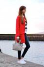 Zara-coat-zara-jeans-h-m-sweater-michael-kors-bag-adidas-sneakers