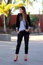 Stradivarius-jeans-zara-blazer-armani-jeans-bag-bershka-heels