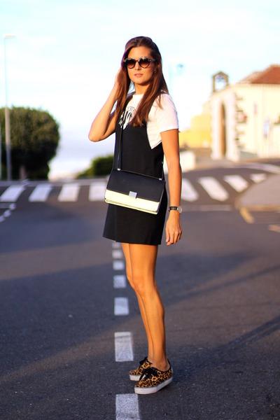 Zara dress - Choies bag - Stradivarius sneakers