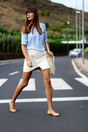 Lusstra bag - Ivyrevel skirt - Sheinside blouse - pull&bear flats