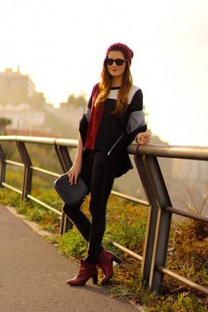 Bershka boots - Sheinside shirt - Bershka pants