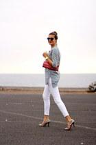 walktrendy shirt - pull&bear jeans - Guess bag - Chanel sunglasses