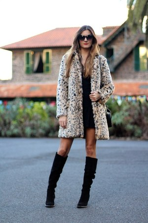 nowIStyle coat - Zara boots - zeroUV sunglasses