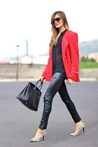 PERSUNMALL bracelet - Sheinside coat - PERSUNMALL heels