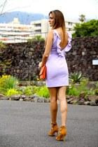 Zara dress - Choies heels