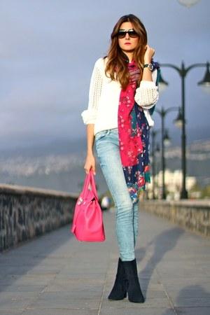 Menbur boots - Primark jeans - chicnova bag - Ivyrevel sweatshirt