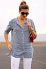 Pull-bear-jeans-walktrendy-shirt-guess-bag-chanel-sunglasses
