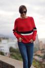 Zar-jeans-sheinside-sweater-converse-sneakers