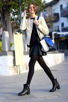 Sheinside jacket - Zara boots - PERSUNMALL bag - PERSUNMALL skirt