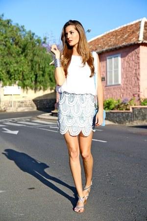 TFNC dress - PERSUNMALL bag - Zara sandals - Primark bracelet