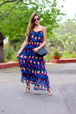 Mango bag - Choies dress - Mango sandals