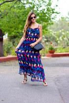 Mango bag - Choies dress - Mango sandals