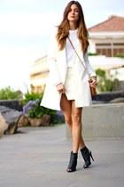 Ivyrevel sweater - PERSUNMALL coat - Ivyrevel skirt - Mango heels