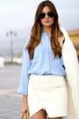 Persunmall-coat-zara-shirt-ivyrevel-skirt-stradivarius-heels