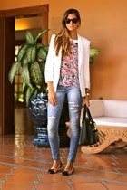Zara jacket - Zara blouse