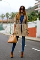 Zara boots - Springfield coat