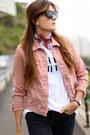 Zara-jeans-mango-jacket-christian-dior-sunglasses-adidas-sneakers