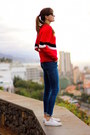 Zar-jeans-sheinside-sweater-converse-sneakers